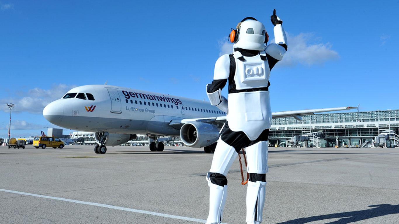 Weltraum-Saga am Stuttgarter Flughafen