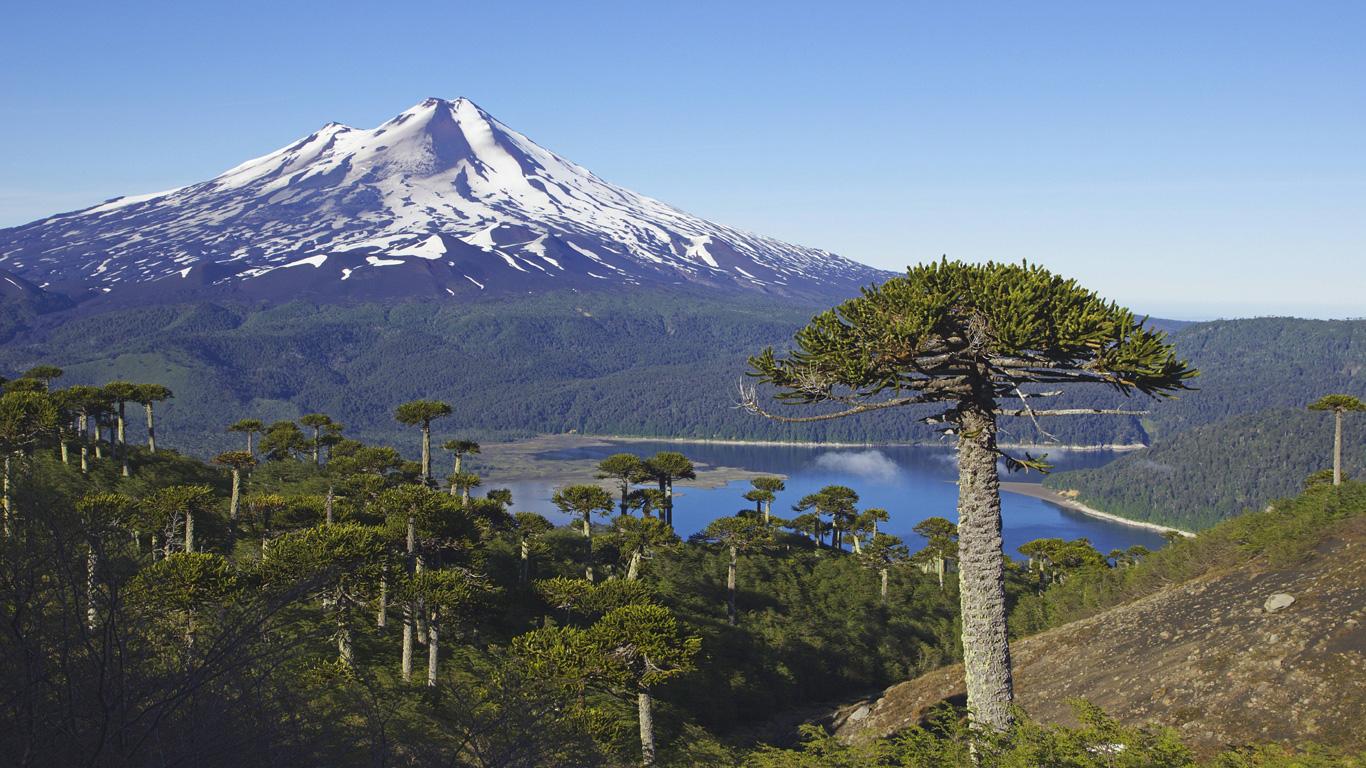 Llaima, Chile