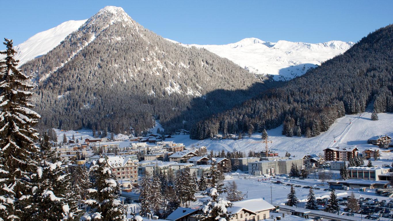 Davos statt Klosters-Serneus