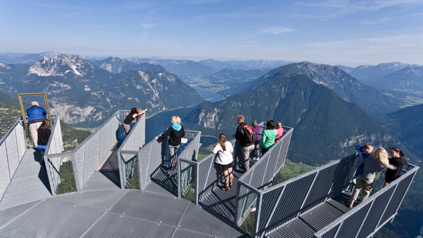 5 Fingers im Dachsteingebirge in Österreich