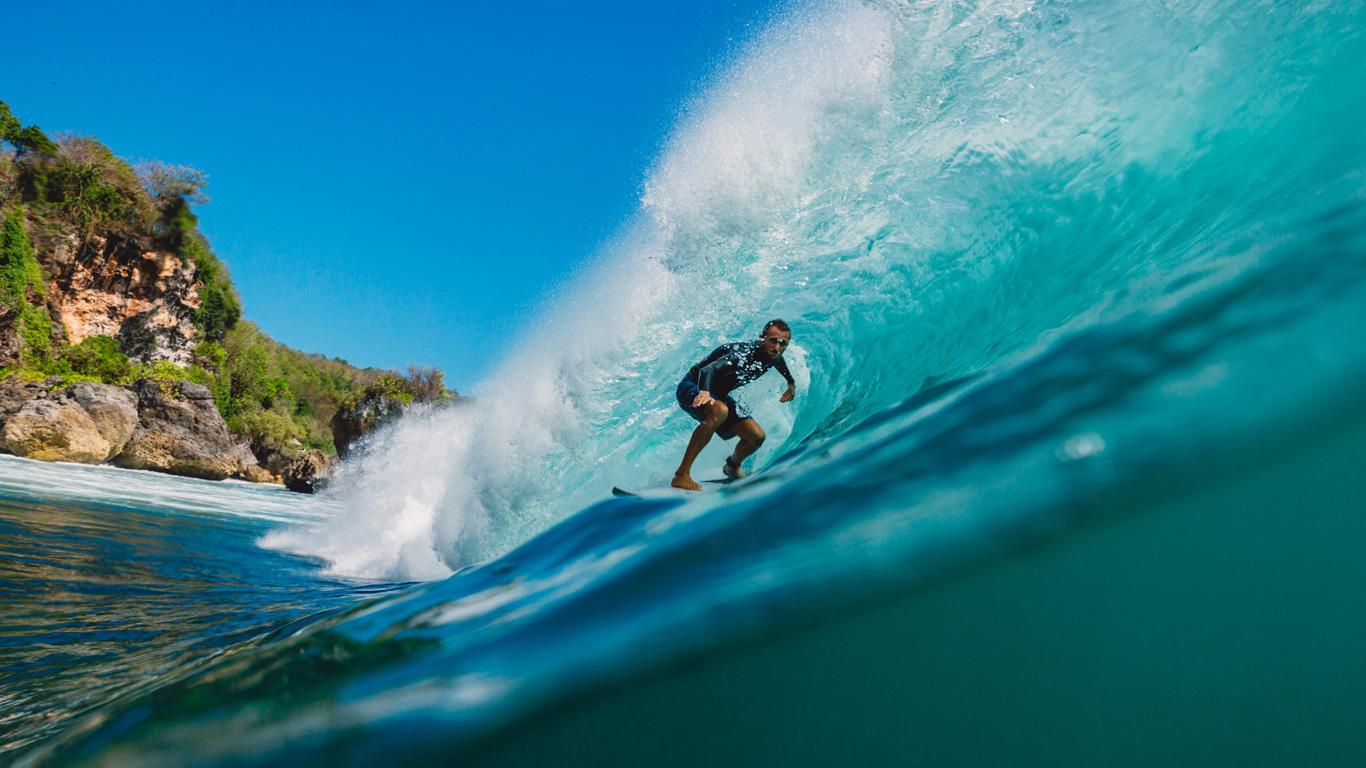 Ein Traum für Surfer