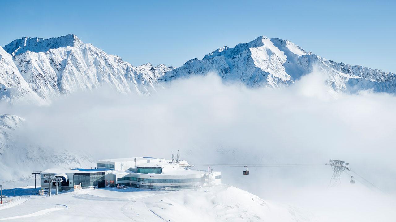 Eisgratbahn, Stubaier Gletscher