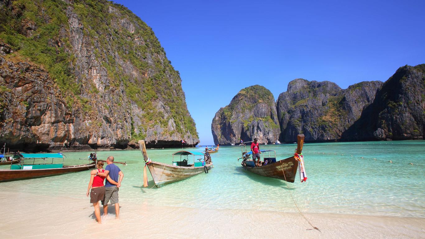 Platz 1: Paradiesische Strände und alte Königsstädte – Thailand