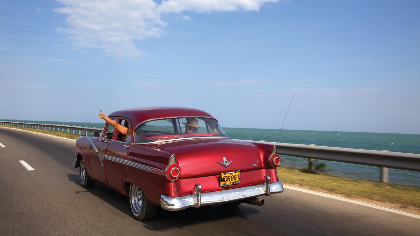 Platz 5: Zigarren und Oldtimer – Kuba