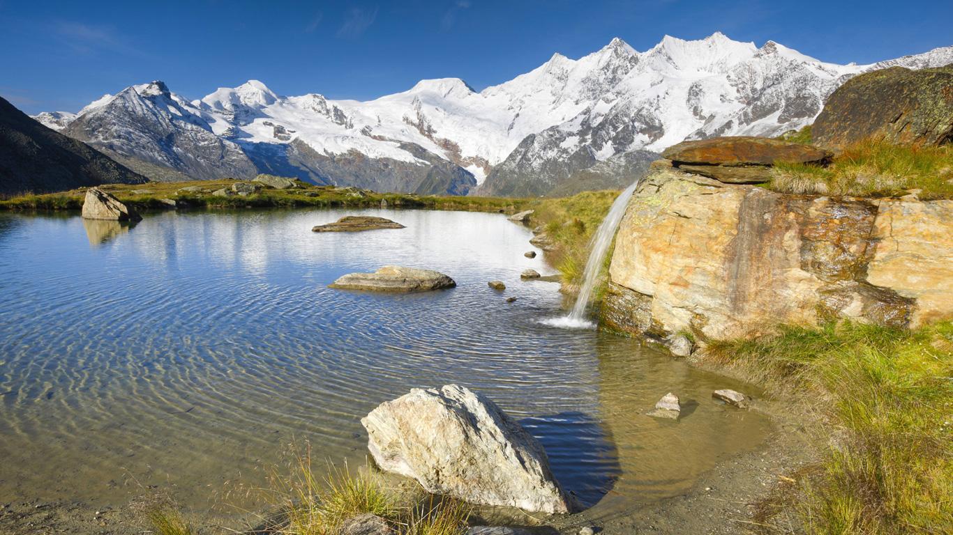 Mischabelhütte (Walliser Alpen, Schweiz)