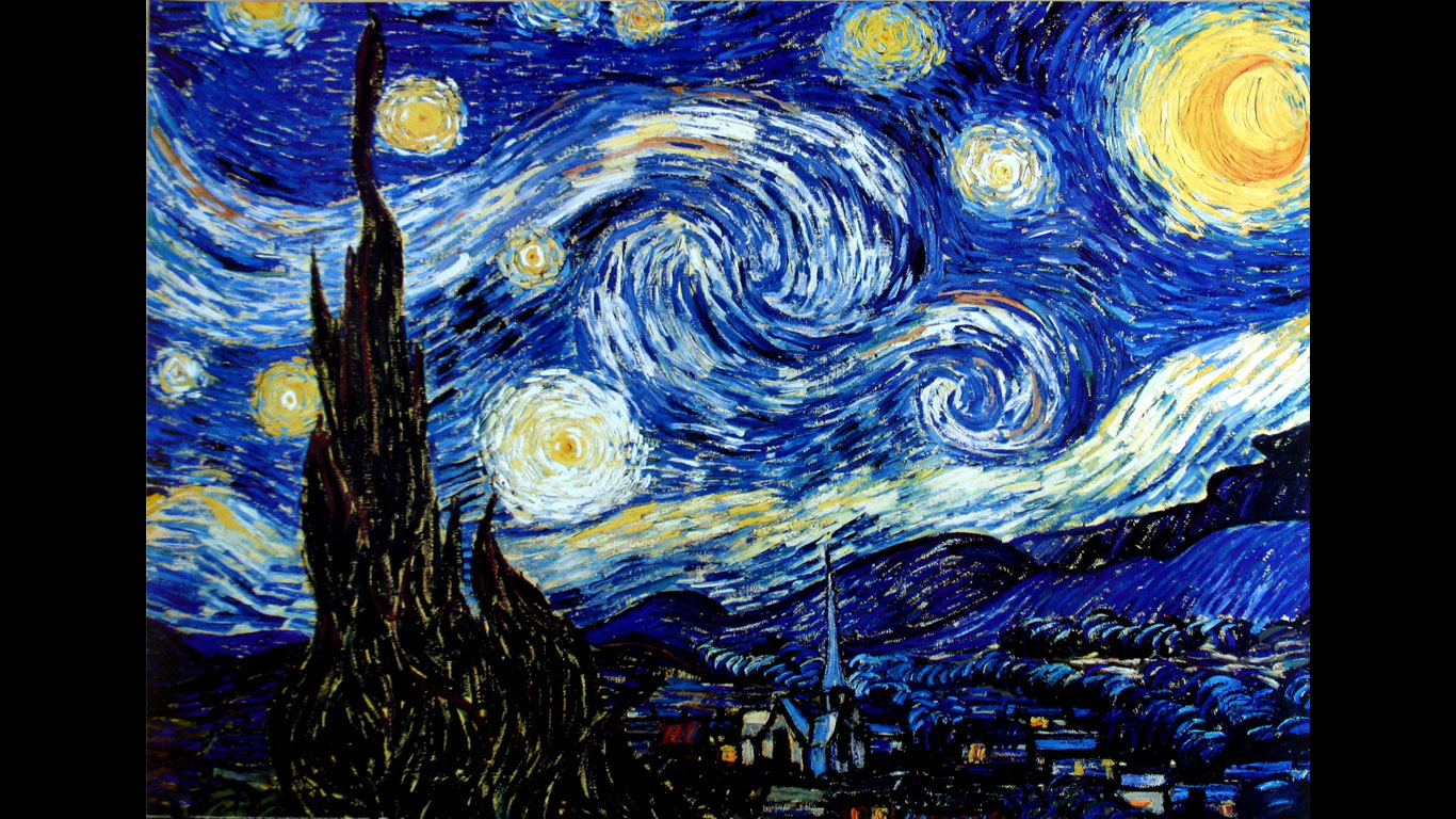 "Museum of Modern Art, New York – ""Sternennacht"" von Vincent van Gogh"