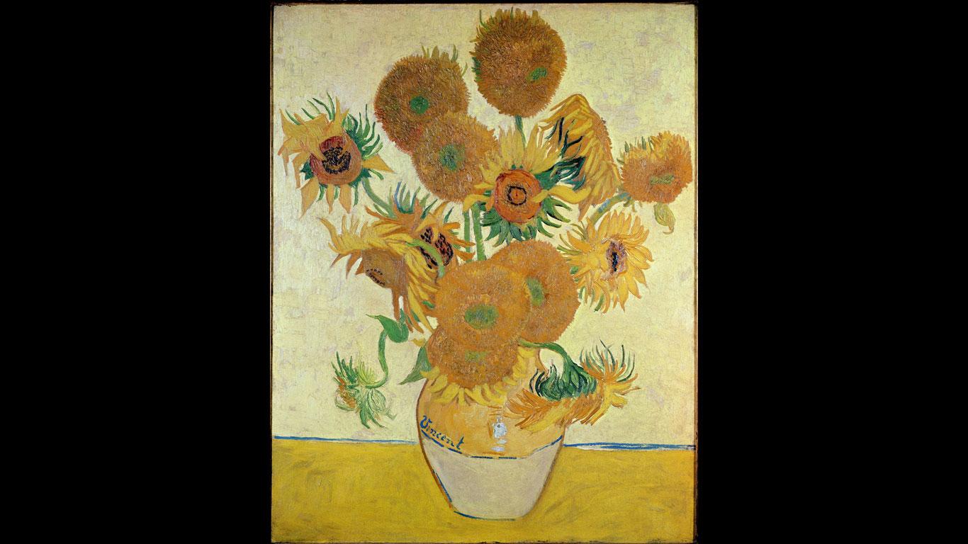 """Seiji Togo Memorial Sompo Japan Nipponkoa Museum of Art, Tokio – """"Die Sonnenblumen"""" von Vincent van Gogh"""