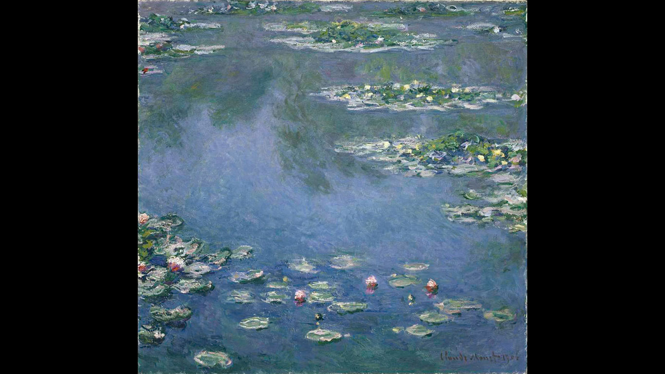 "Art Institute of Chicago – ""Die Seerosen"" von Claude Monet"