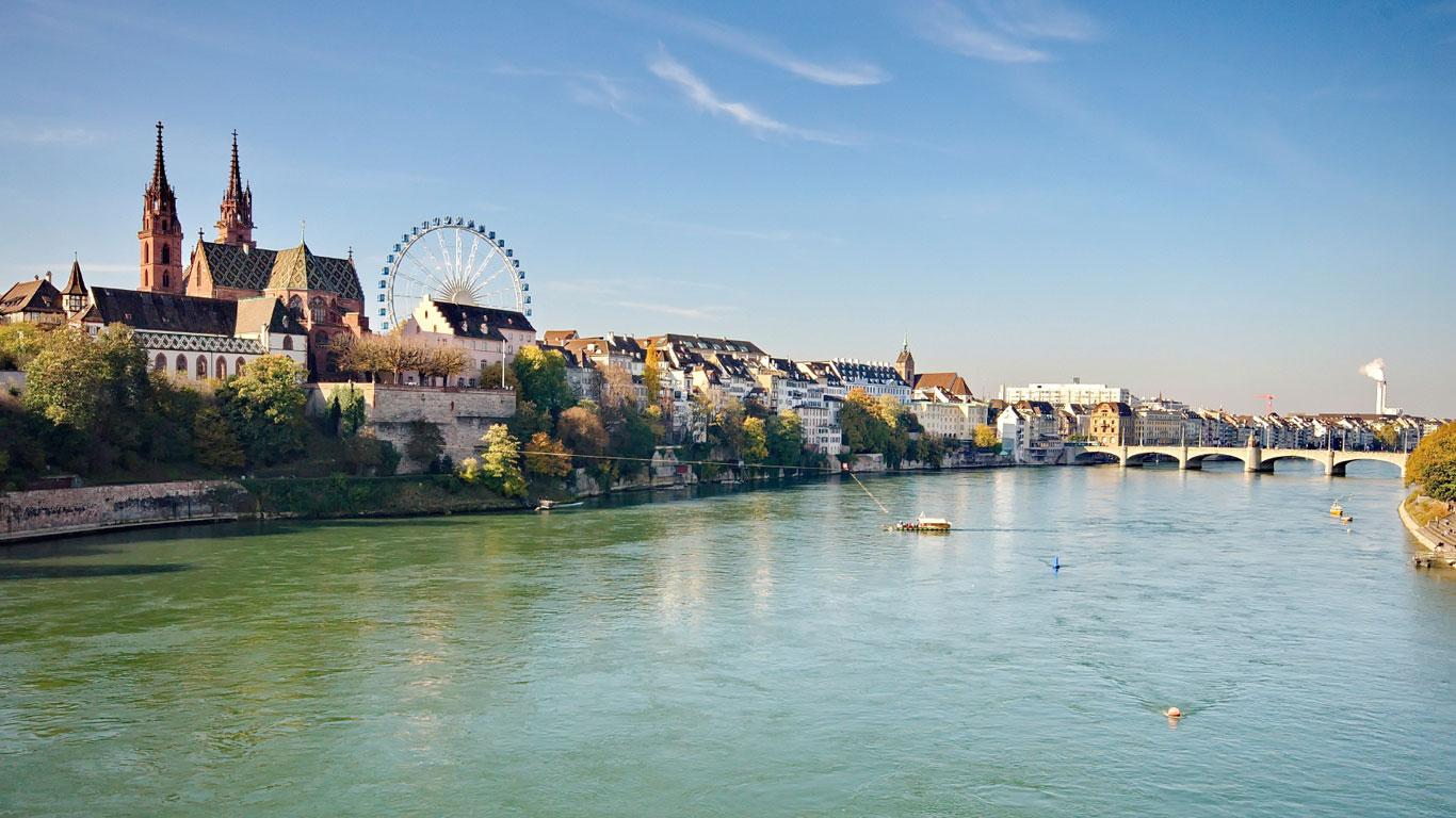 Basel - Kurzurlaub am Rhein