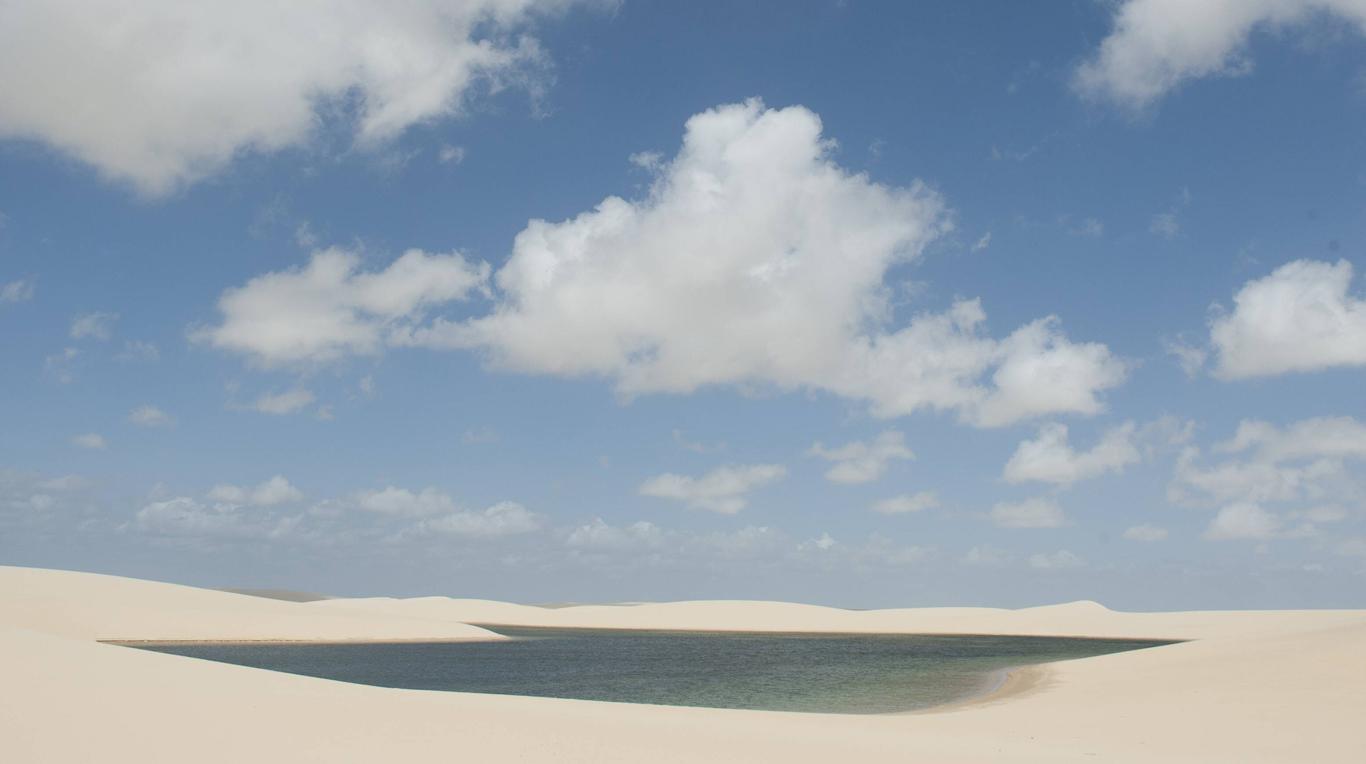 Die wasserreichste Wüste der Erde