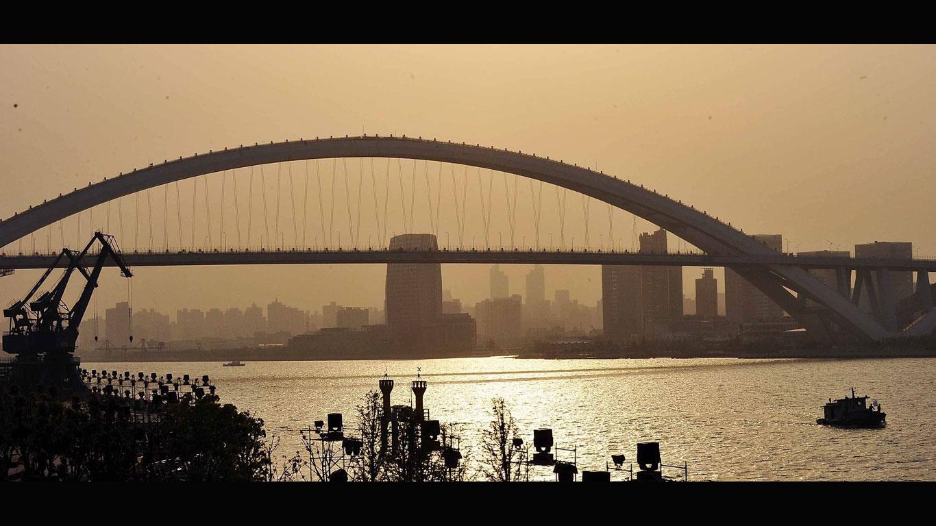 Lupu-Brücke, Shanghai