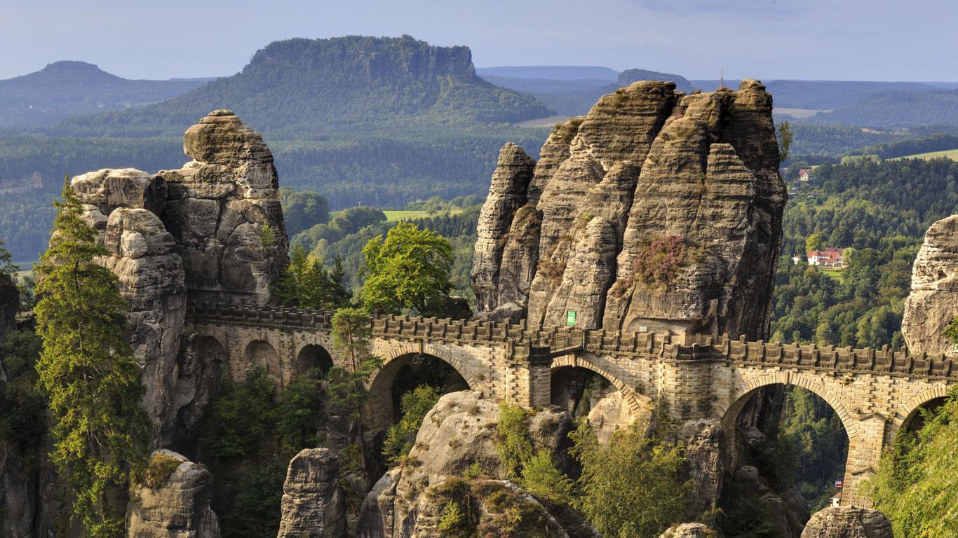 Basteibrücke, Deutschland