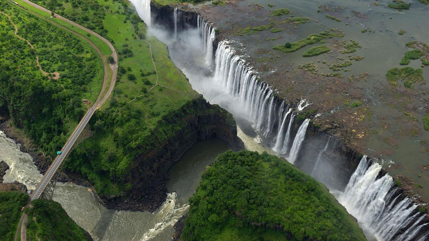 Victoria Falls-Brücke, Sambia/Zimbabwe