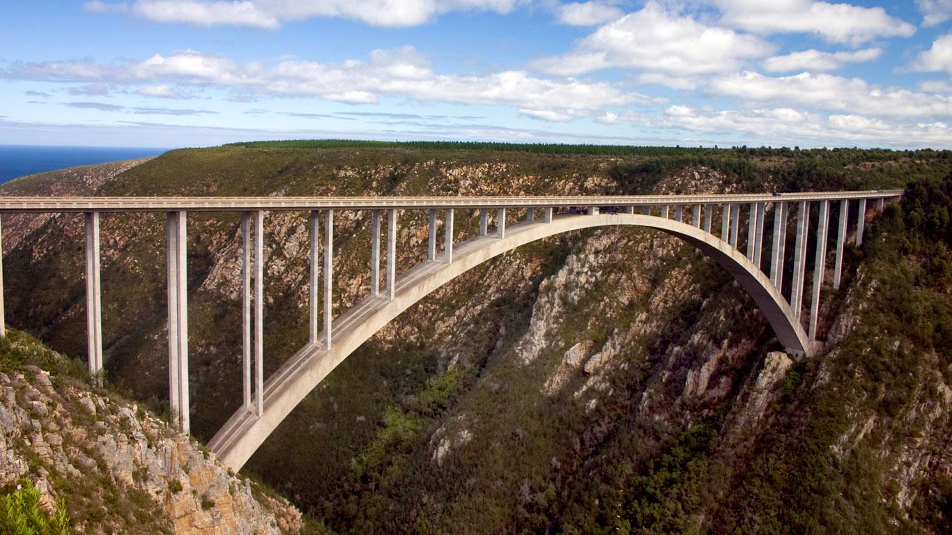 Bloukrans-Brücke, Südafrika