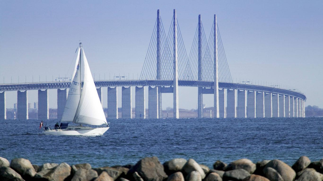 Öresundbrücke, Dänemark