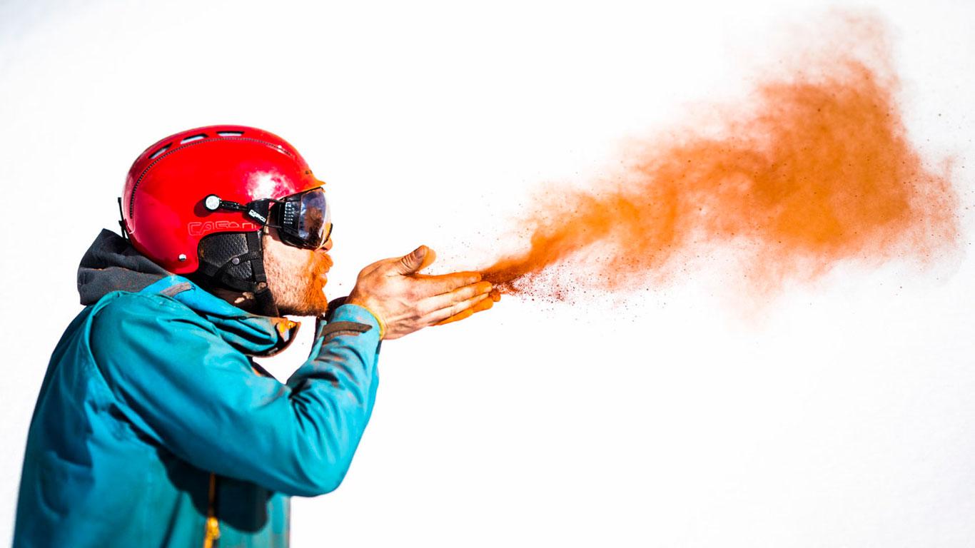 Die Lösung: ein Atomisierer sorgt für Sprühfarbe