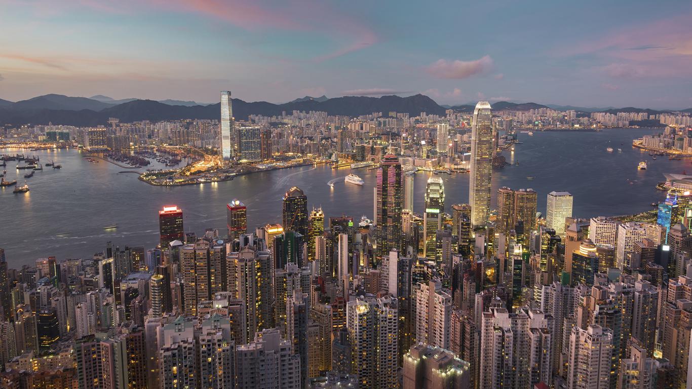Hong Kong vereint die Kulturen