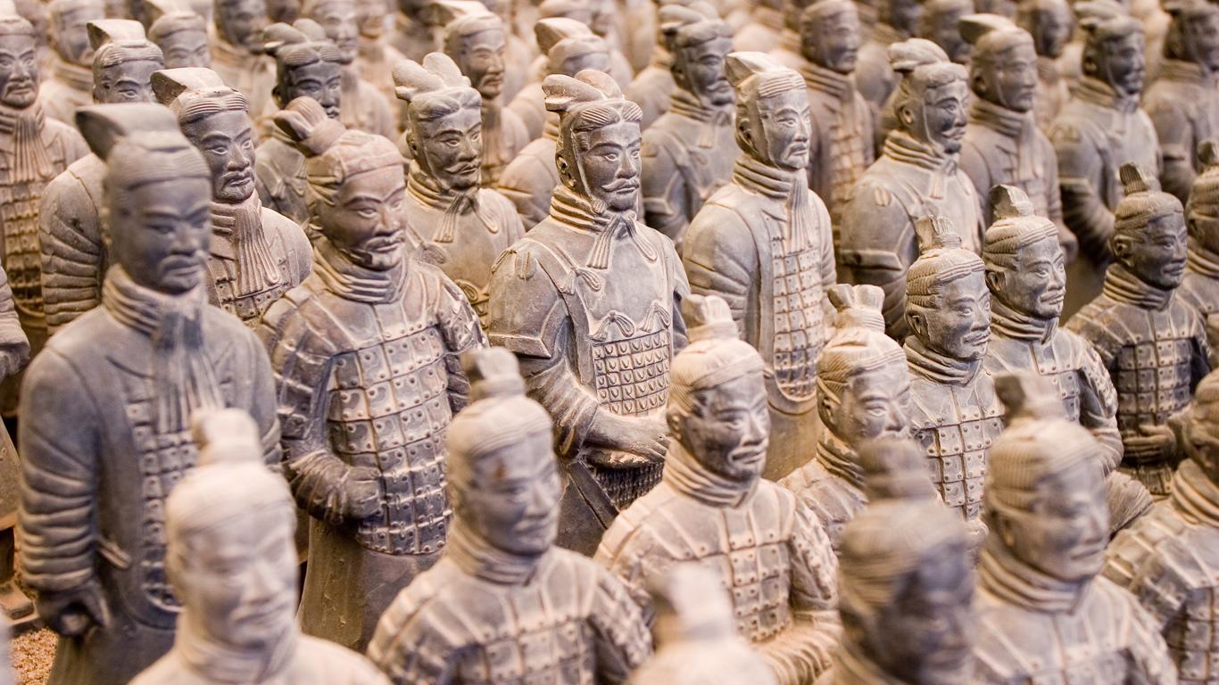 Die gigantische Terrakotta-Armee
