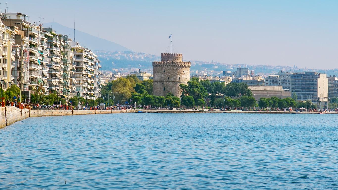Thessaloniki – Badevergnügen vor dem Rückflug