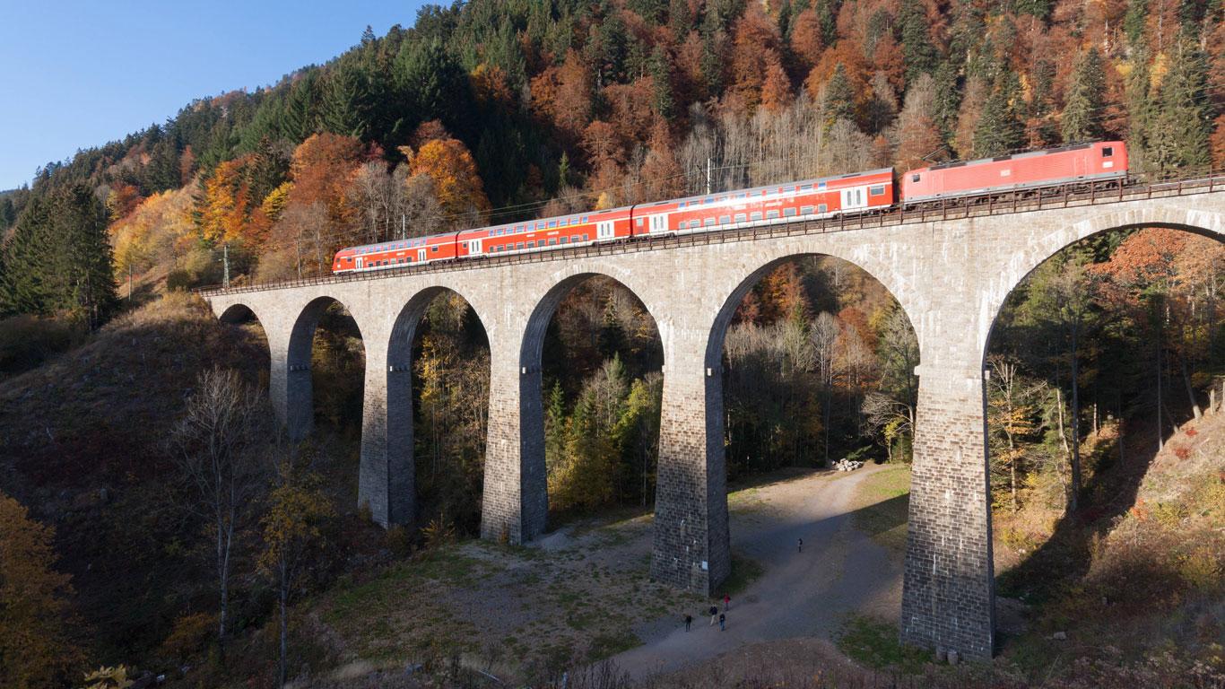 Die steilste Eisenbahnstrecke