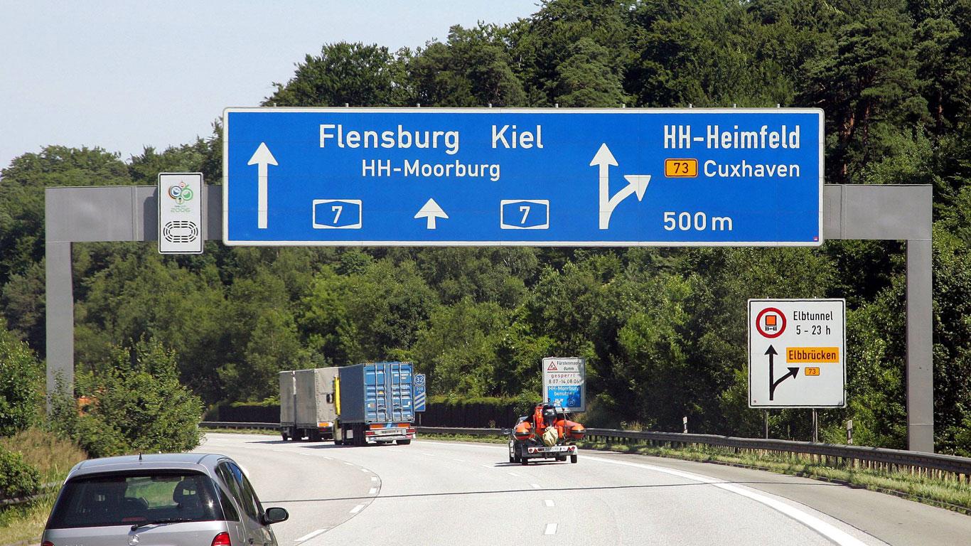 Die längste Autobahn