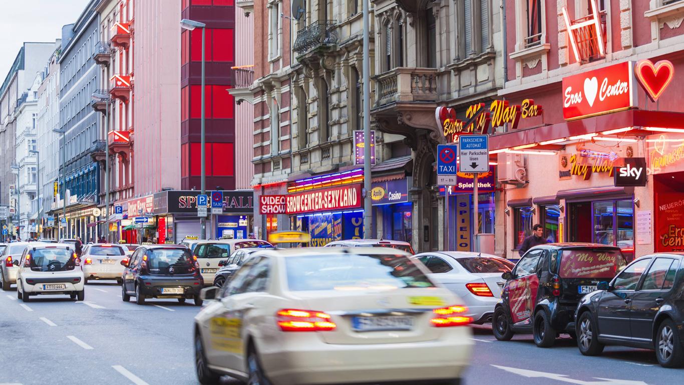 Das gefährlichste Viertel Deutschlands – Bahnhofsviertel Frankfurt am Main (Hessen)