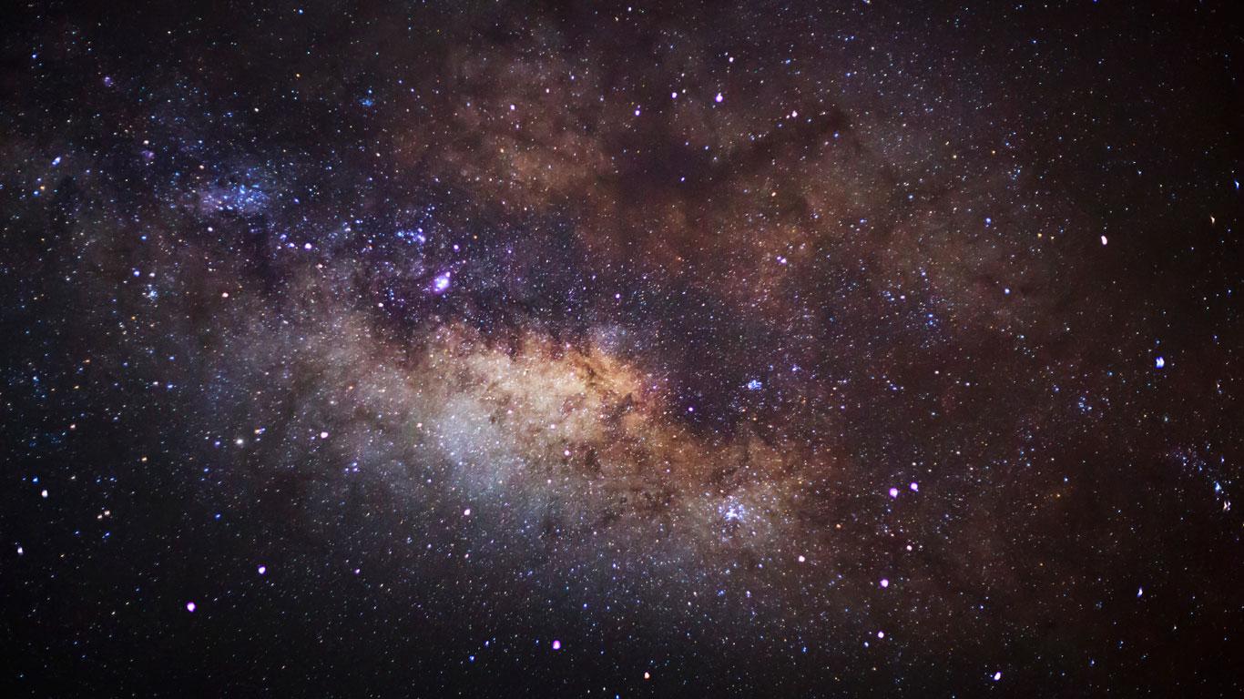 Je dunkler der Himmel, desto heller die Sterne