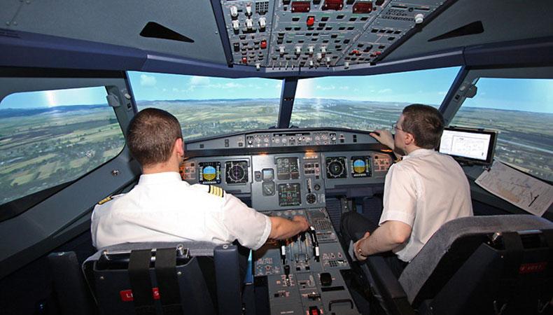Simulator-Flug