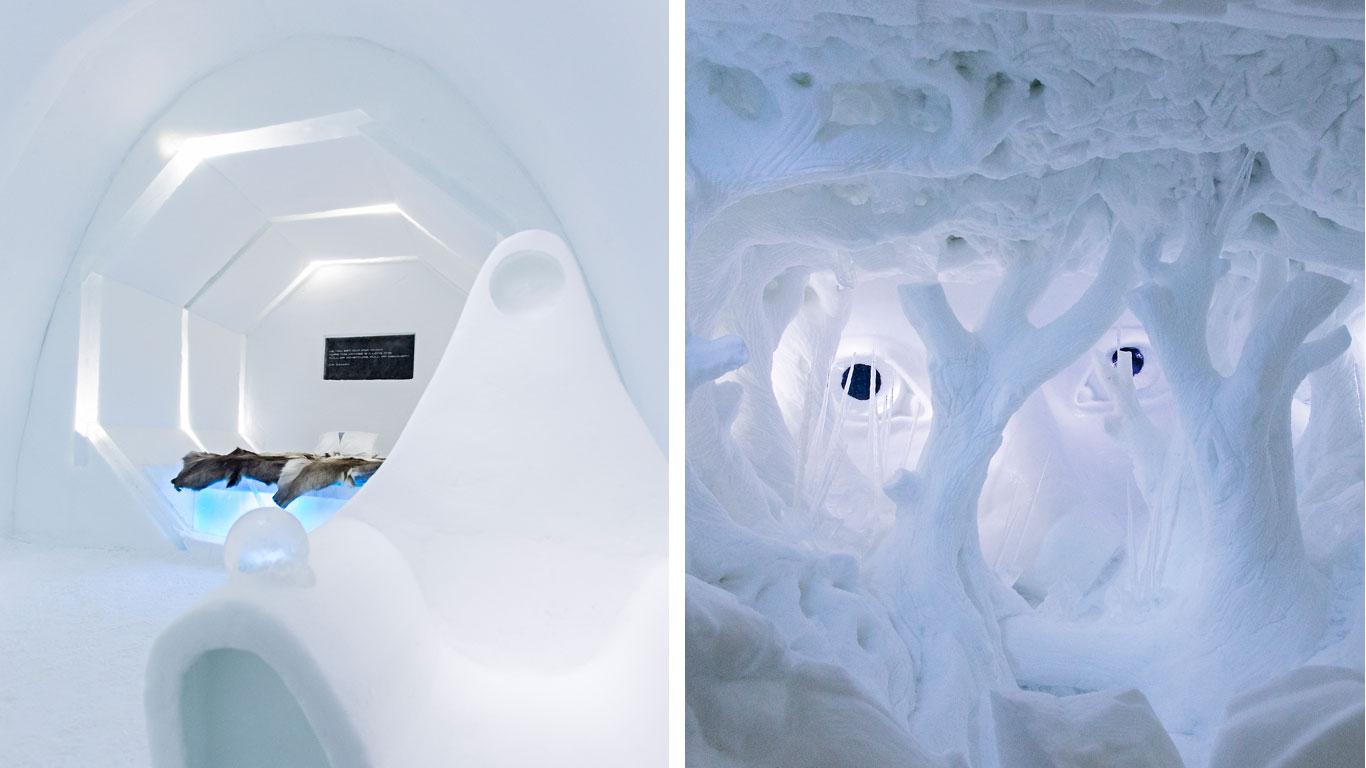 Tonnen von Schnee & Eis