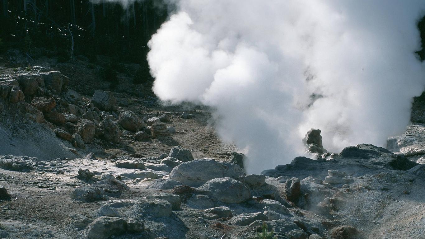 Der höchste Geysir