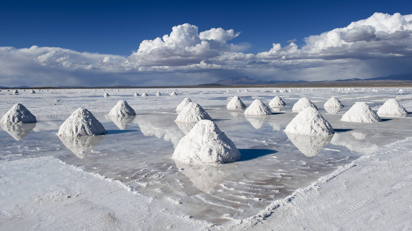 Salz bis zum Horizont