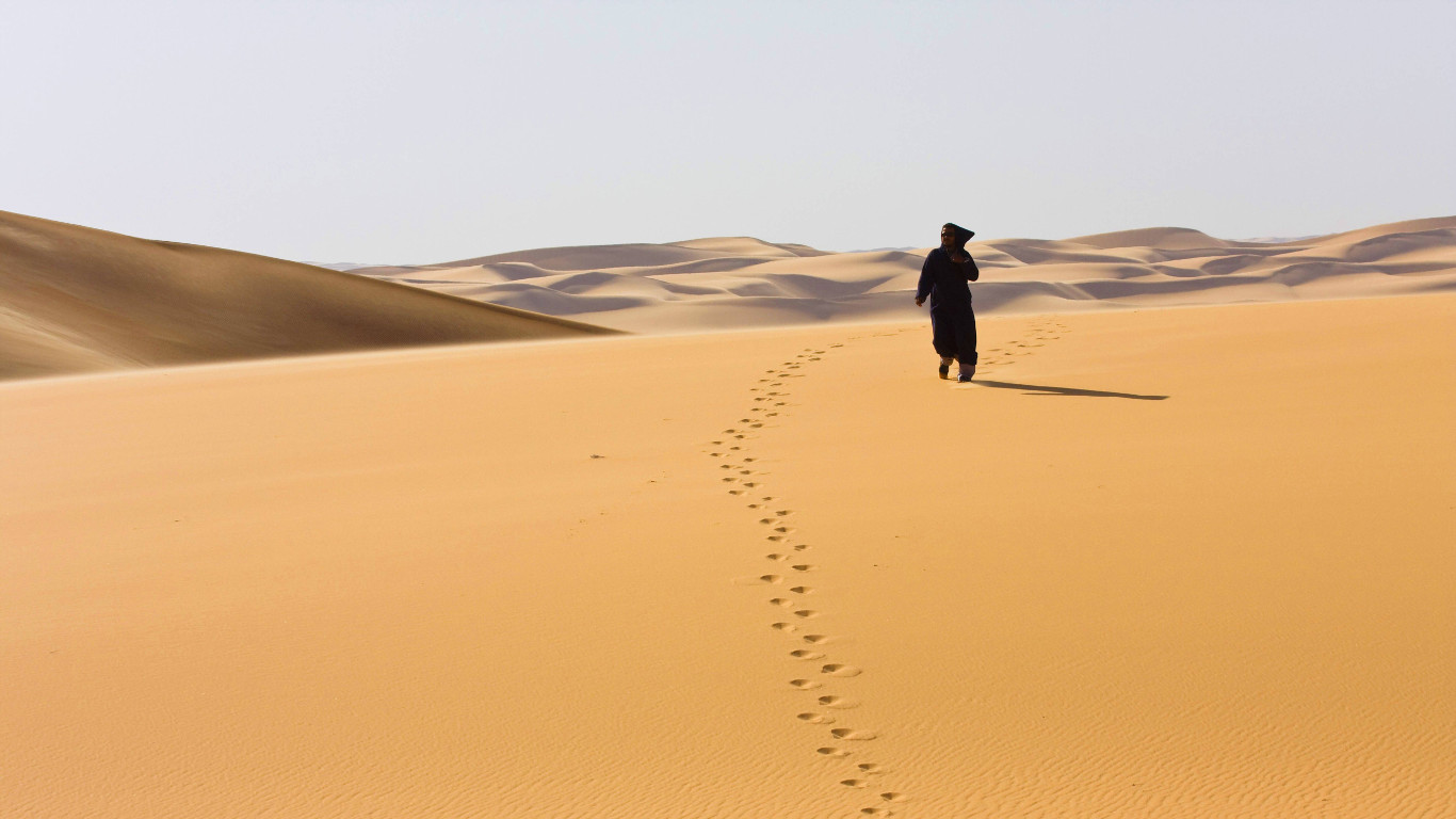 Hitzerekord in Libyen
