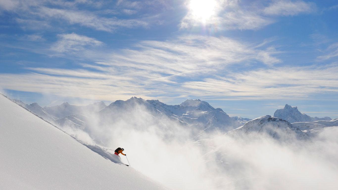 Skifahren mal anders