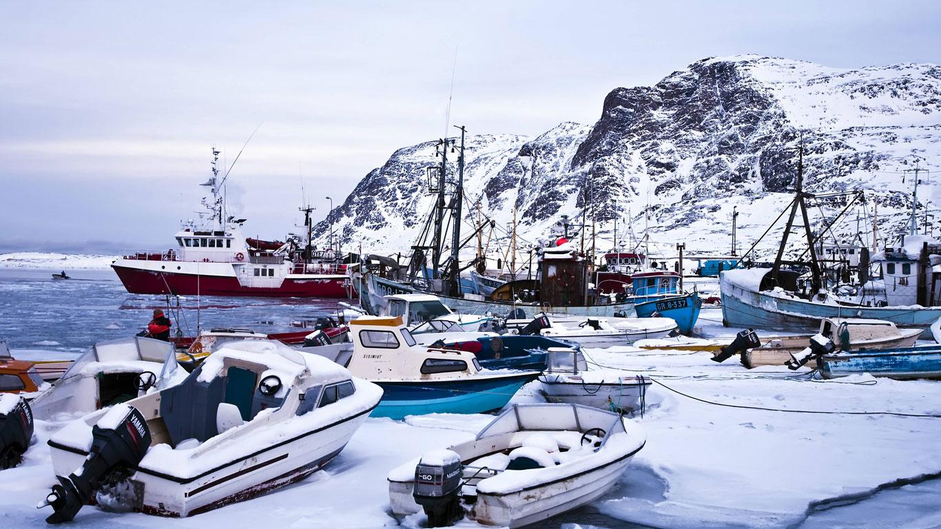 Grönland: das kälteste Skigebiet der Welt