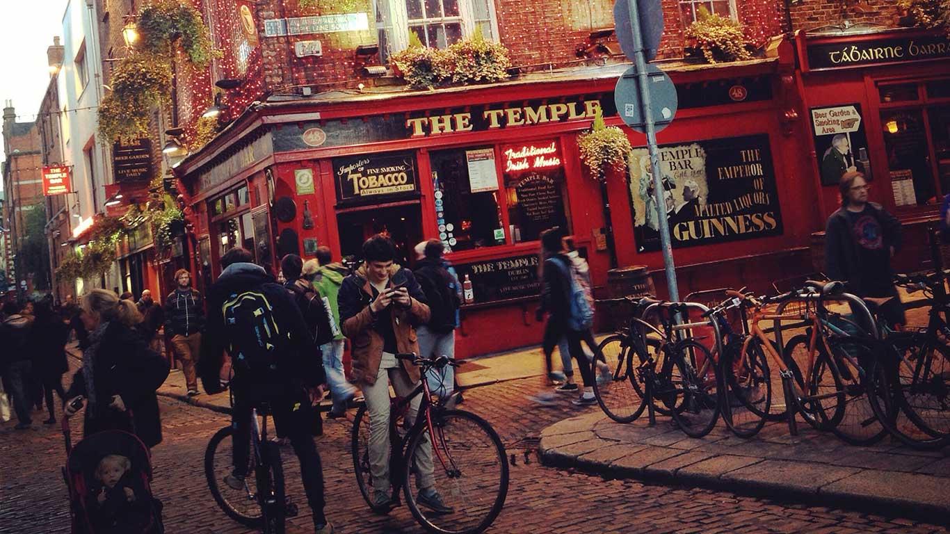 Leihstationen-Netz: Dublin