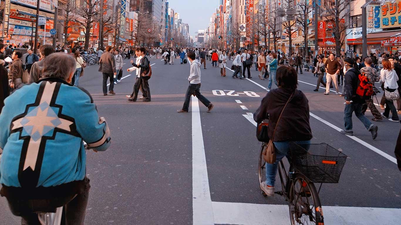 Sicherer durch die Stadt mit dem Bike: Tokio
