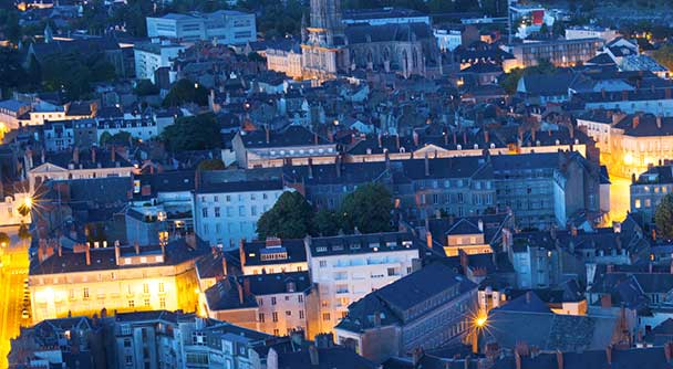 Austragungsort der Velo-city-Konferenz 2015: Nantes