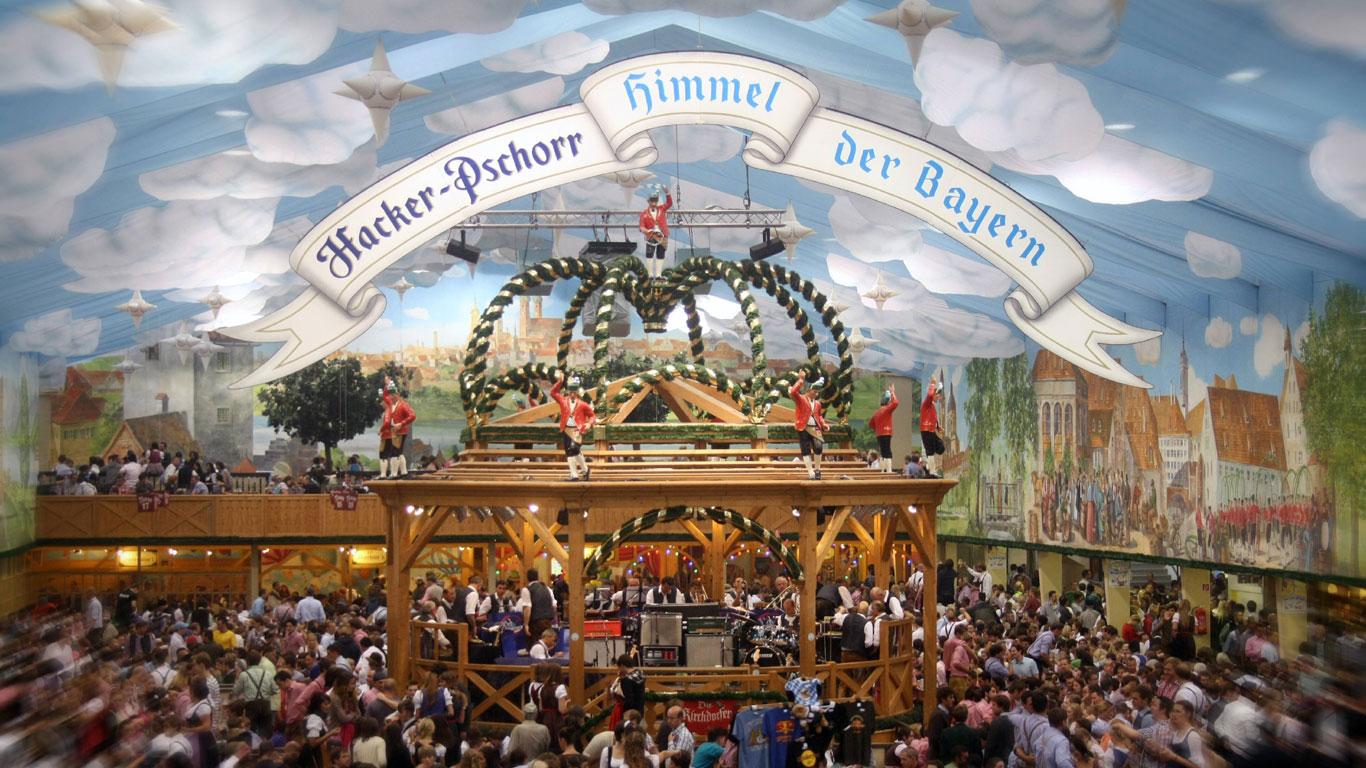 Der Himmel der Bayern