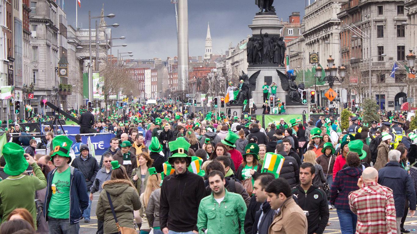 Irland feiert den heiligen Patrick
