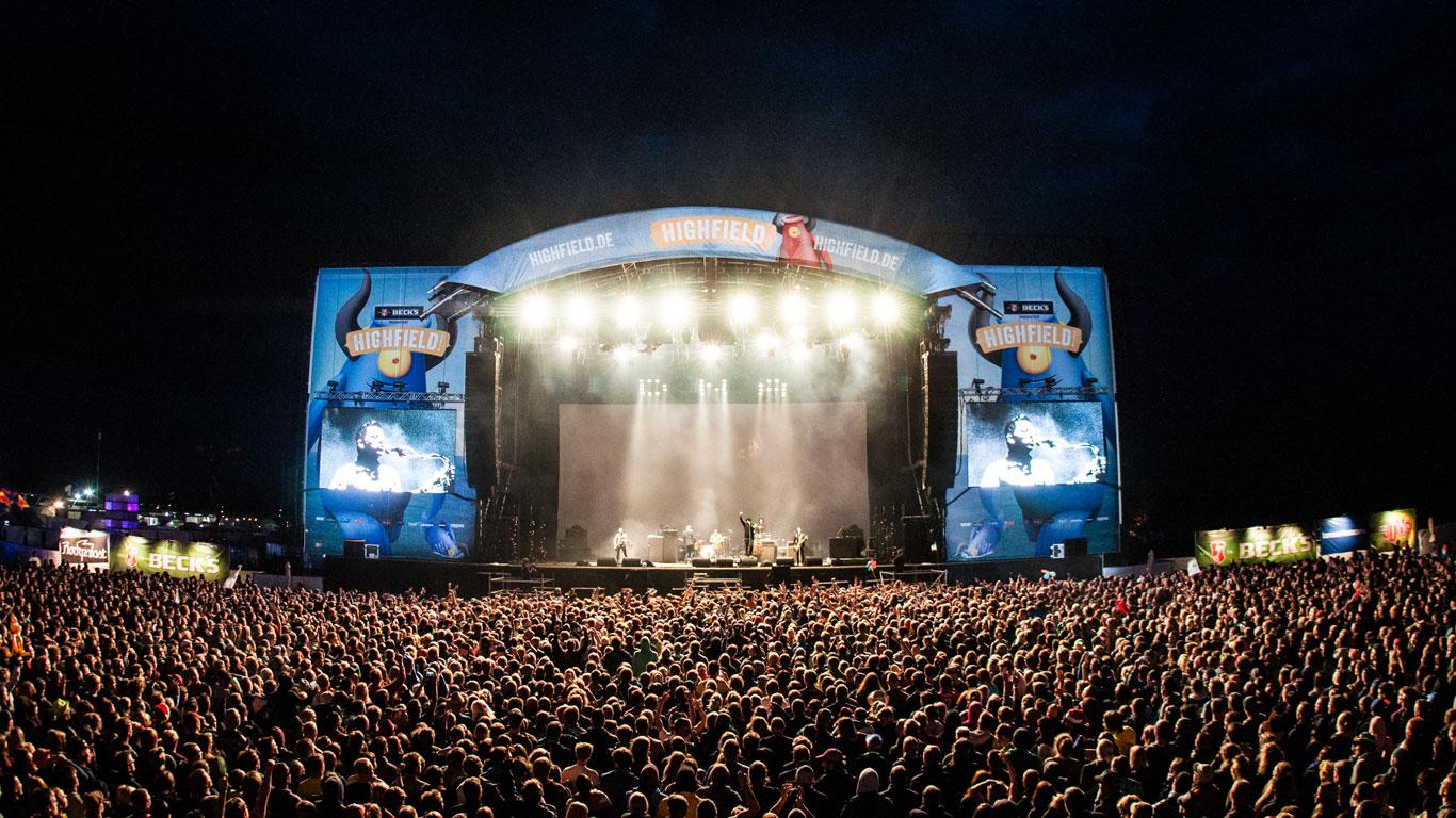 Highfield Festival bei Leipzig, Deutschland: 14. - 16. August 2015