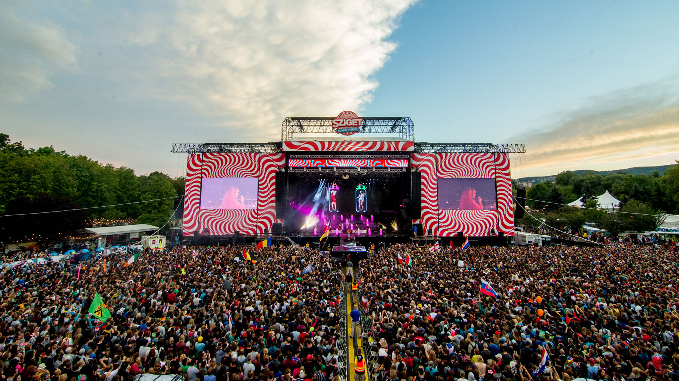 Sziget-Festival in Budapest, Ungarn: 10. - 17. August 2015