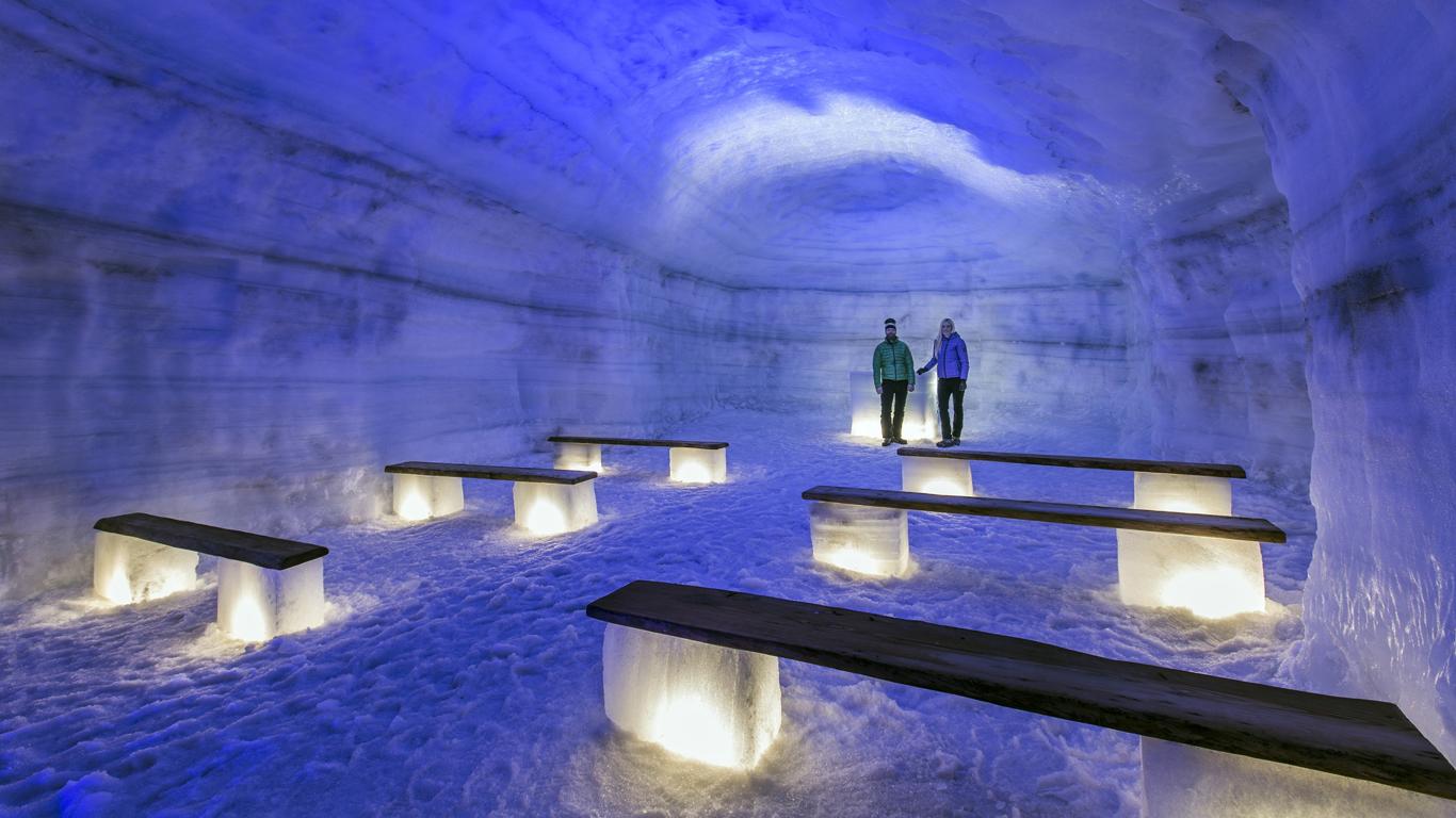 Erfrischung am Gletscher – Island