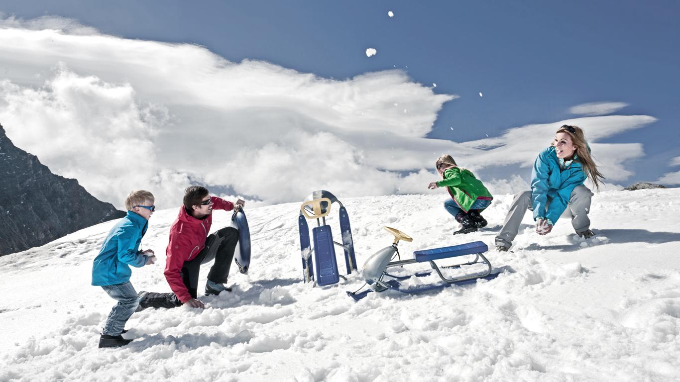 Kühle Luft auf den Gipfeln – Österreich: