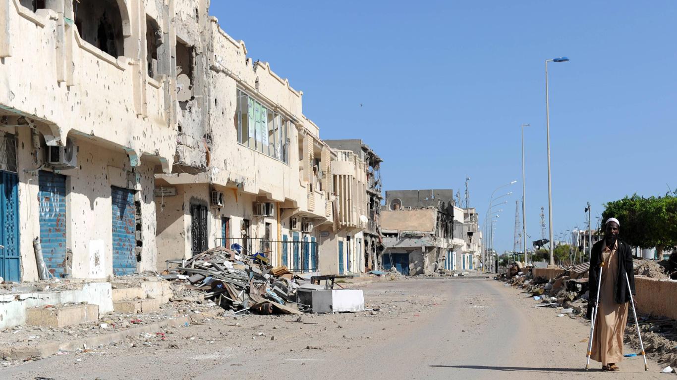 Sirte, Libyen