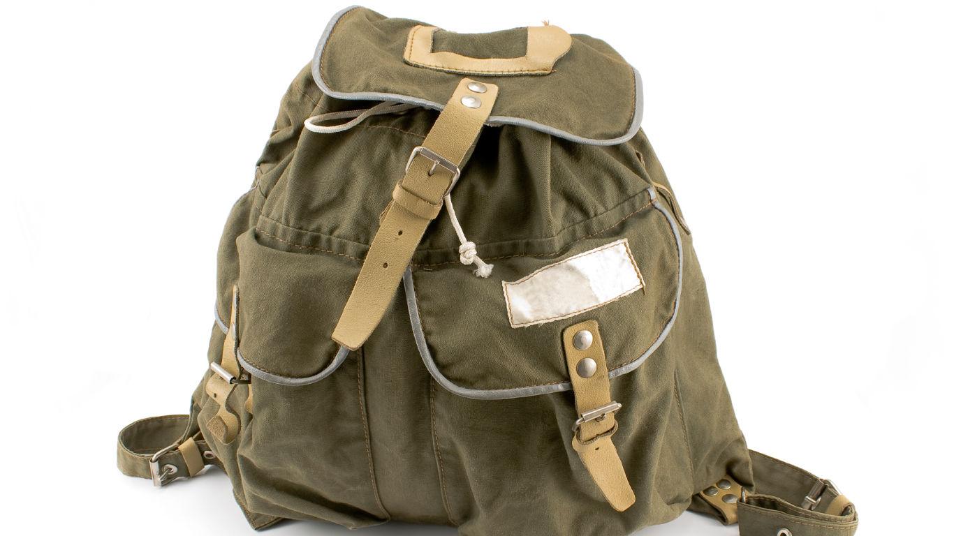 Tasche oder Rucksack für Tagesausflüge