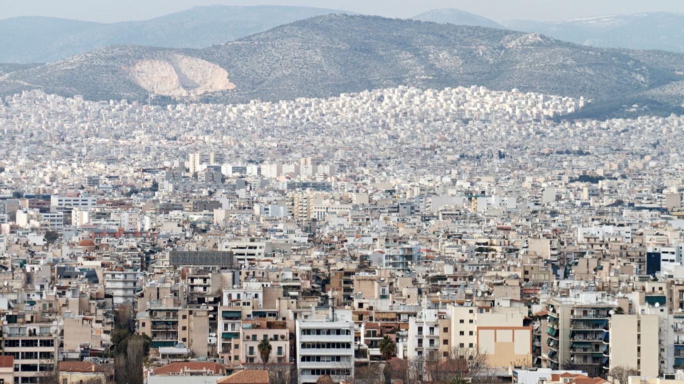 Unterschiedlich groß: Athen