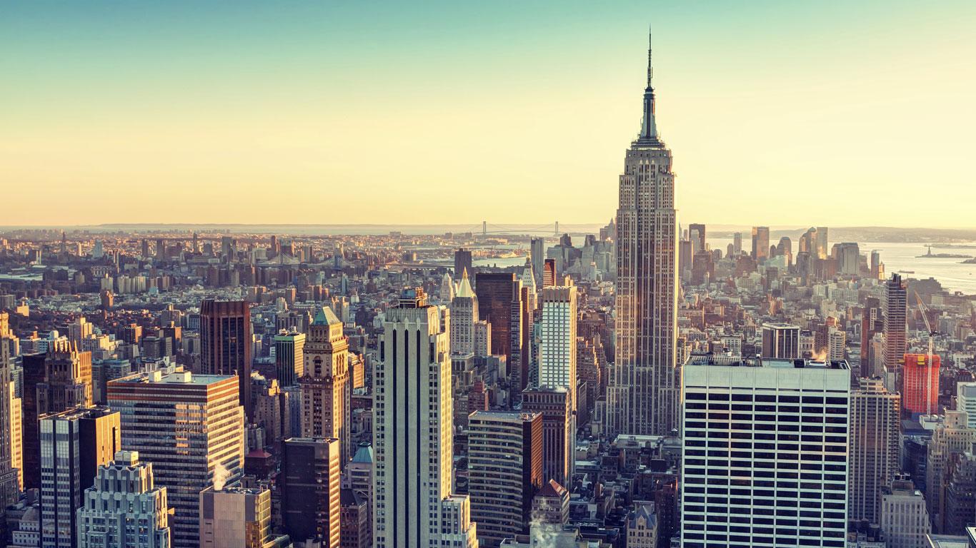 Gleichmäßig: New York
