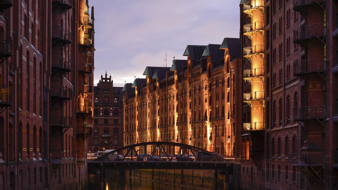 Kontorhausviertel in Hamburg