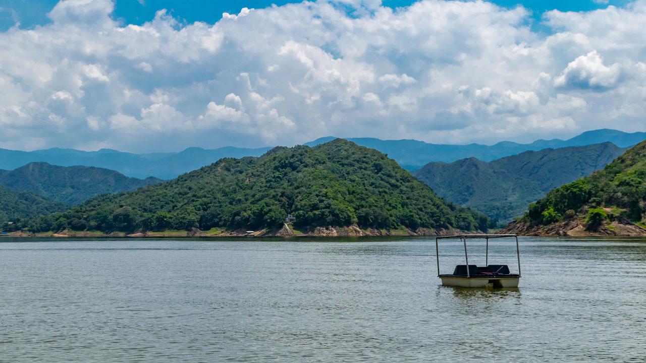 Die Insel ohne Namen Prado, Kolumbien
