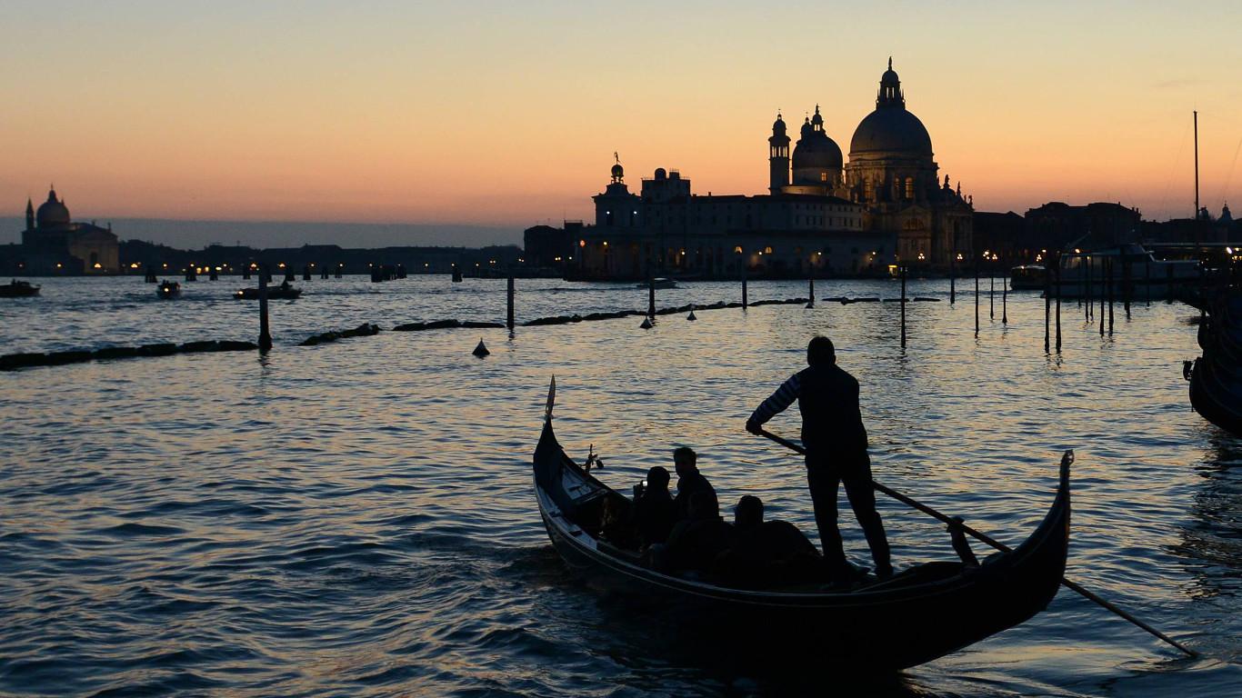 Venedig: Das spektakuläre Ende einer Liebesgeschichte